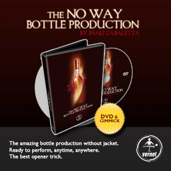 The No Way Bottle Production ( Dvd & Gimmick )