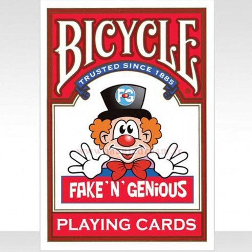 Jeu Bicycle Fake 'N' Genious