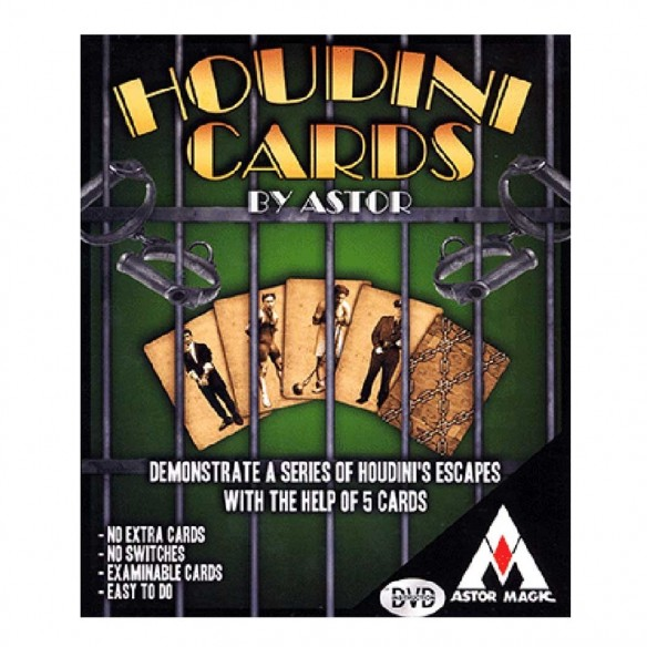 Houdini cards - Astor