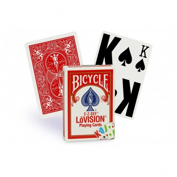 Bicycle Low Vision (Rouge)