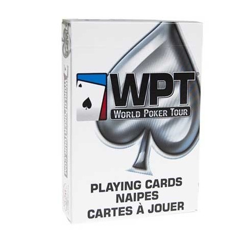 Bicycle World Poker Tour (blanc)