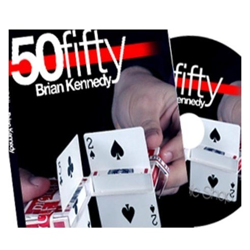 50 Fifty (DVD and Gimmick) by Brian Kennedy 2