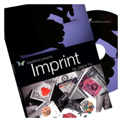 Imprint (DVD and Gimmick) by Jason Yu and SansMinds 2