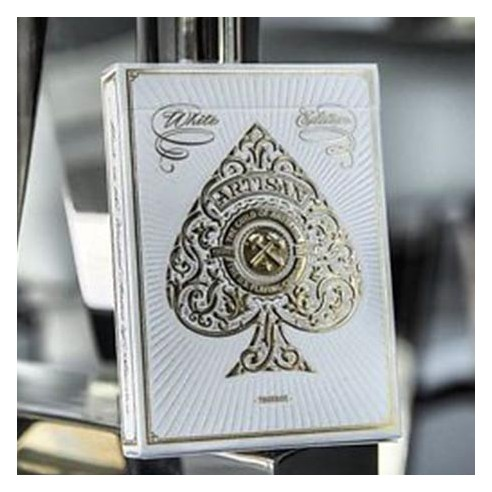 Jeu bicycle Artisan (blanc)