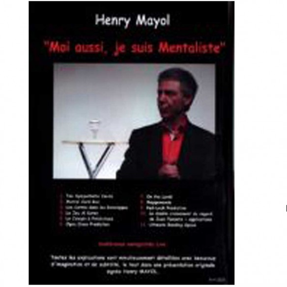 MOI AUSSI JE SUIS MENTALISTE - Henry MAYOL - DVD